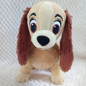 "Disney's Lady & The Tramp 12"" Plush Dog Kohl's"